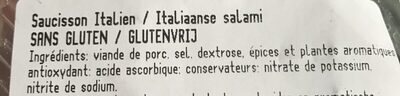 Salame Italiano - Ingrediënten - fr