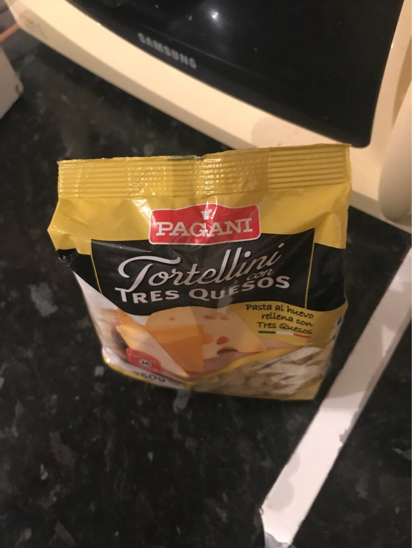 Tortellini con tres quesos - Producte - es