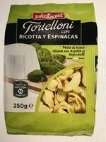 Tortelloni con ricotta y espinacas - Producto