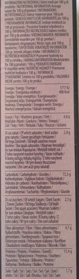 Grissini friabili classici - Informations nutritionnelles