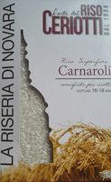 riso superfino Carnaroli - Product - it