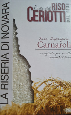 riso superfino Carnaroli - Product