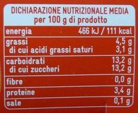 Yogurt e Agrumi di Sicilia - Nutrition facts - it