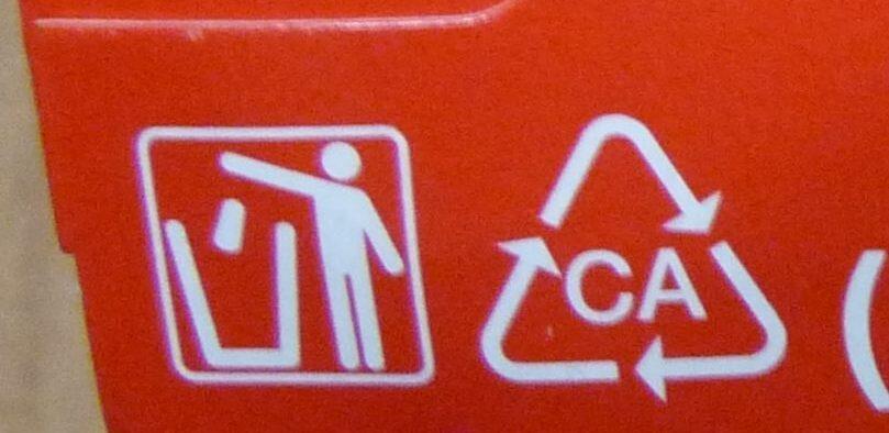 Yogurt e Agrumi di Sicilia - Istruzioni per il riciclaggio e/o informazioni sull'imballaggio - it