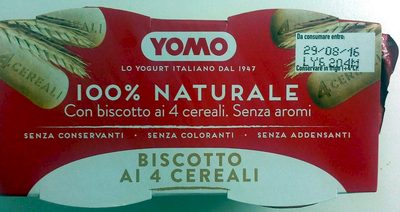 Biscotto ai 4 cereali - Product