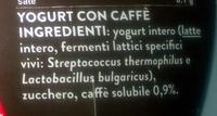 Yaourt au café - Ingrediënten - it