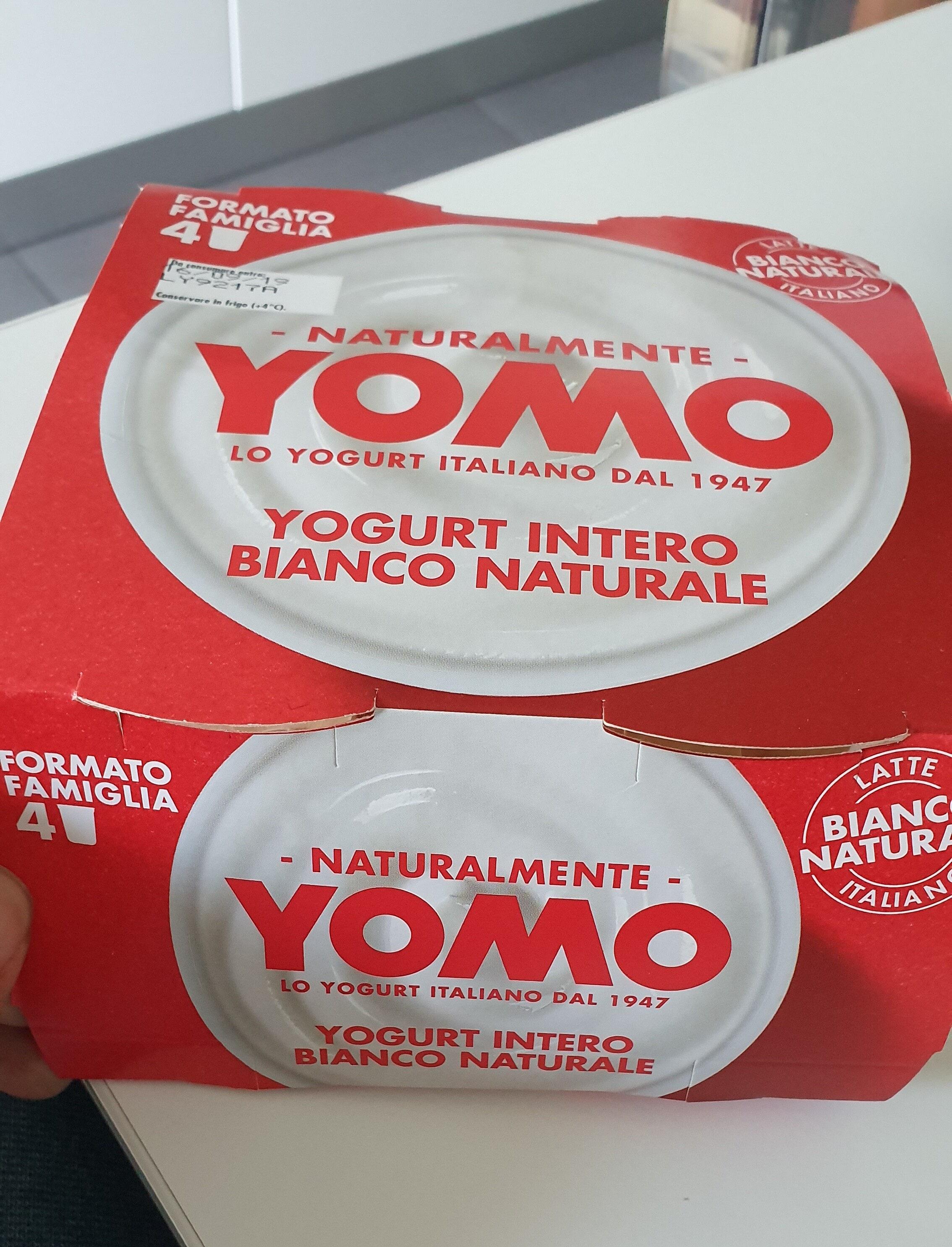 Yomo Yogurt intero Bianco Naturale - Product