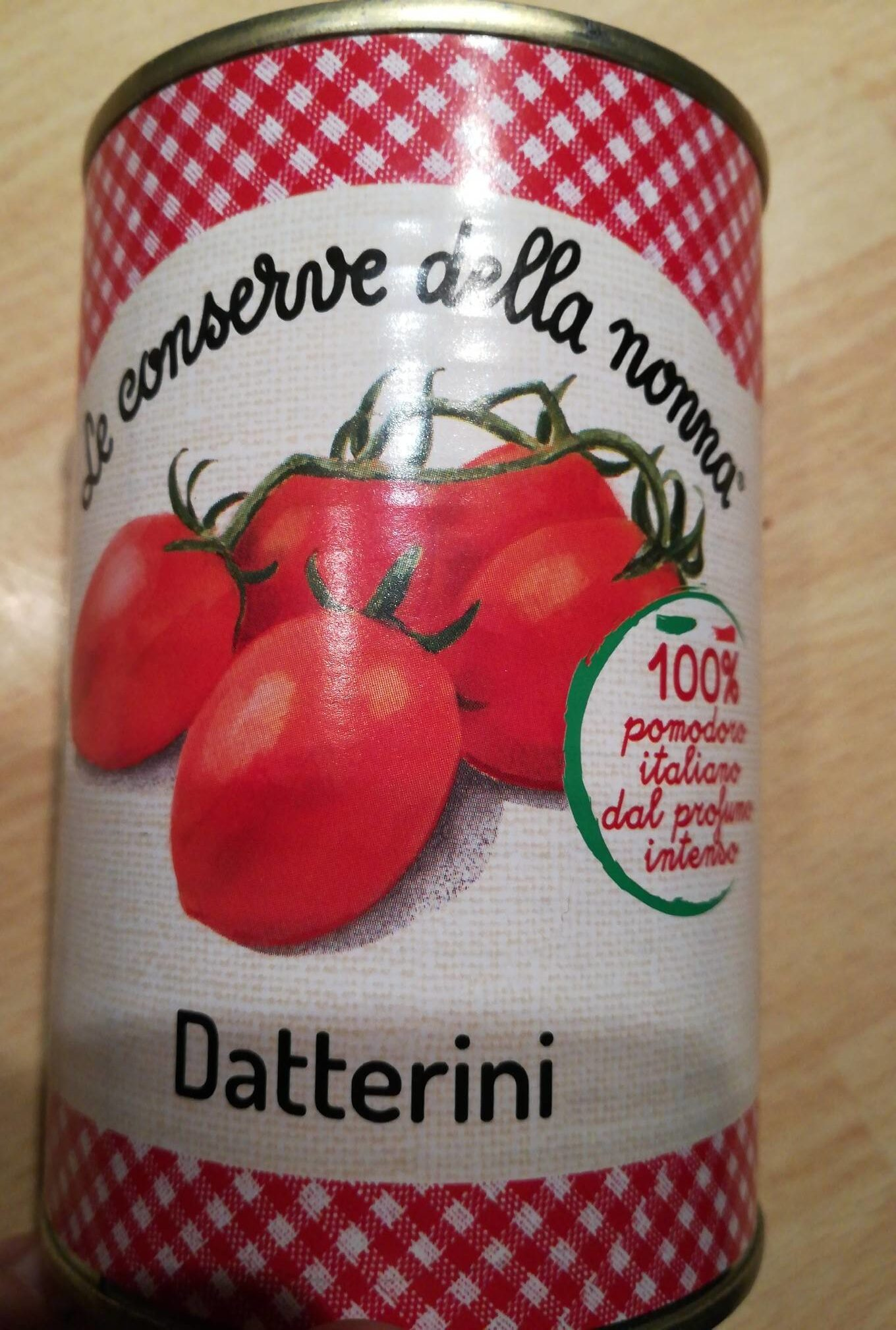 Datterini - Nutrition facts - fr