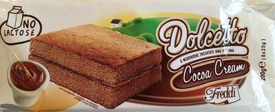Dolcetto - gâteaux fourrés au cacao maigre - Produit - fr