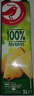 Succo di ananas - Produkt