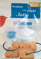 Frollini con riso e latte - Produit - fr