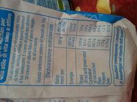 Frollini con riso e latte - Informations nutritionnelles - it