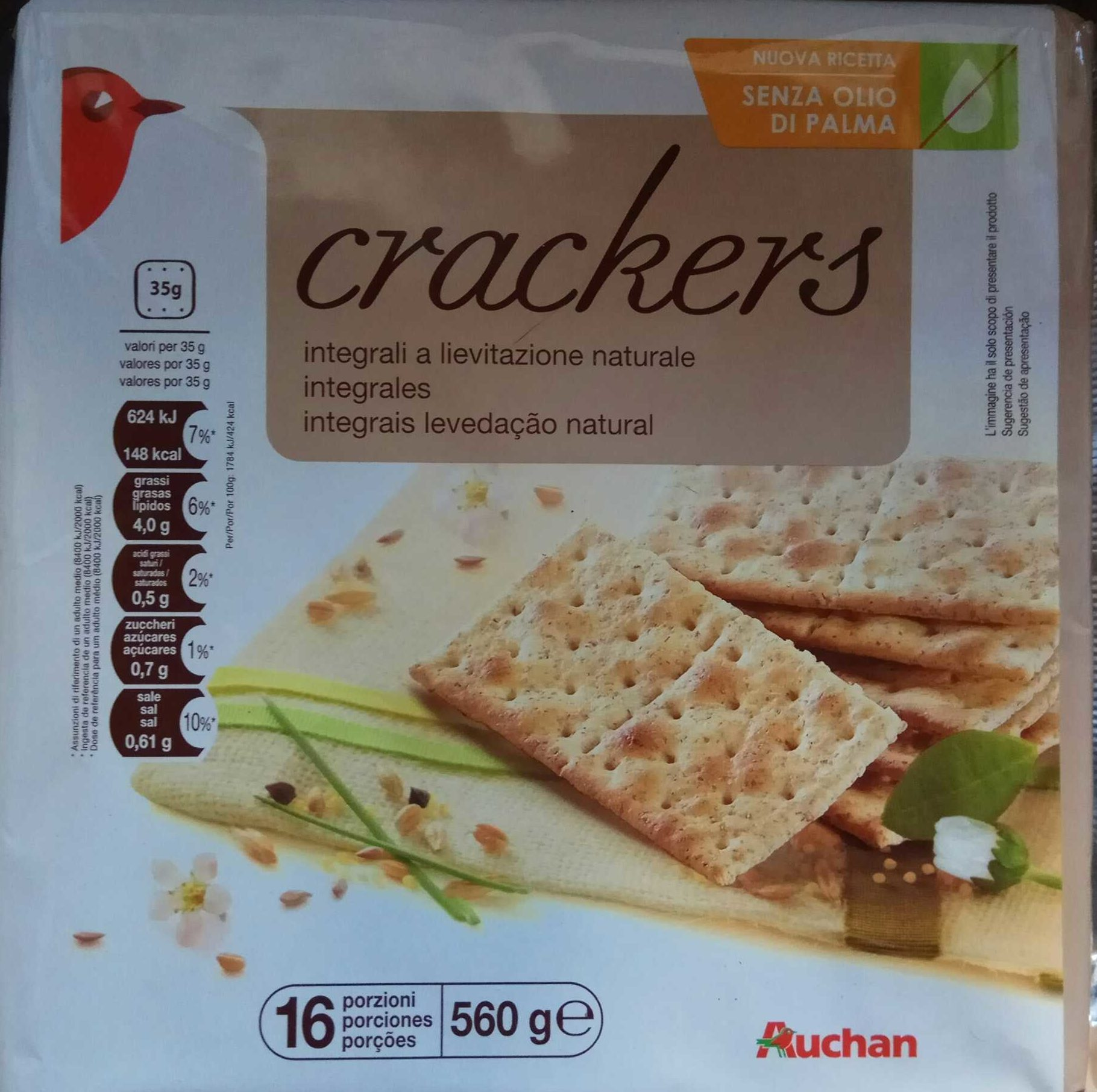 Crackers integrales - Producto - es