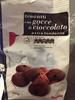 Biscotti con gocce di cioccolate extra fondente - Prodotto