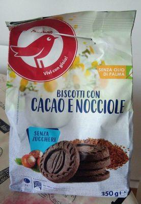 Biscotti con cacao e nocciole senza zuccheri - Produit - fr