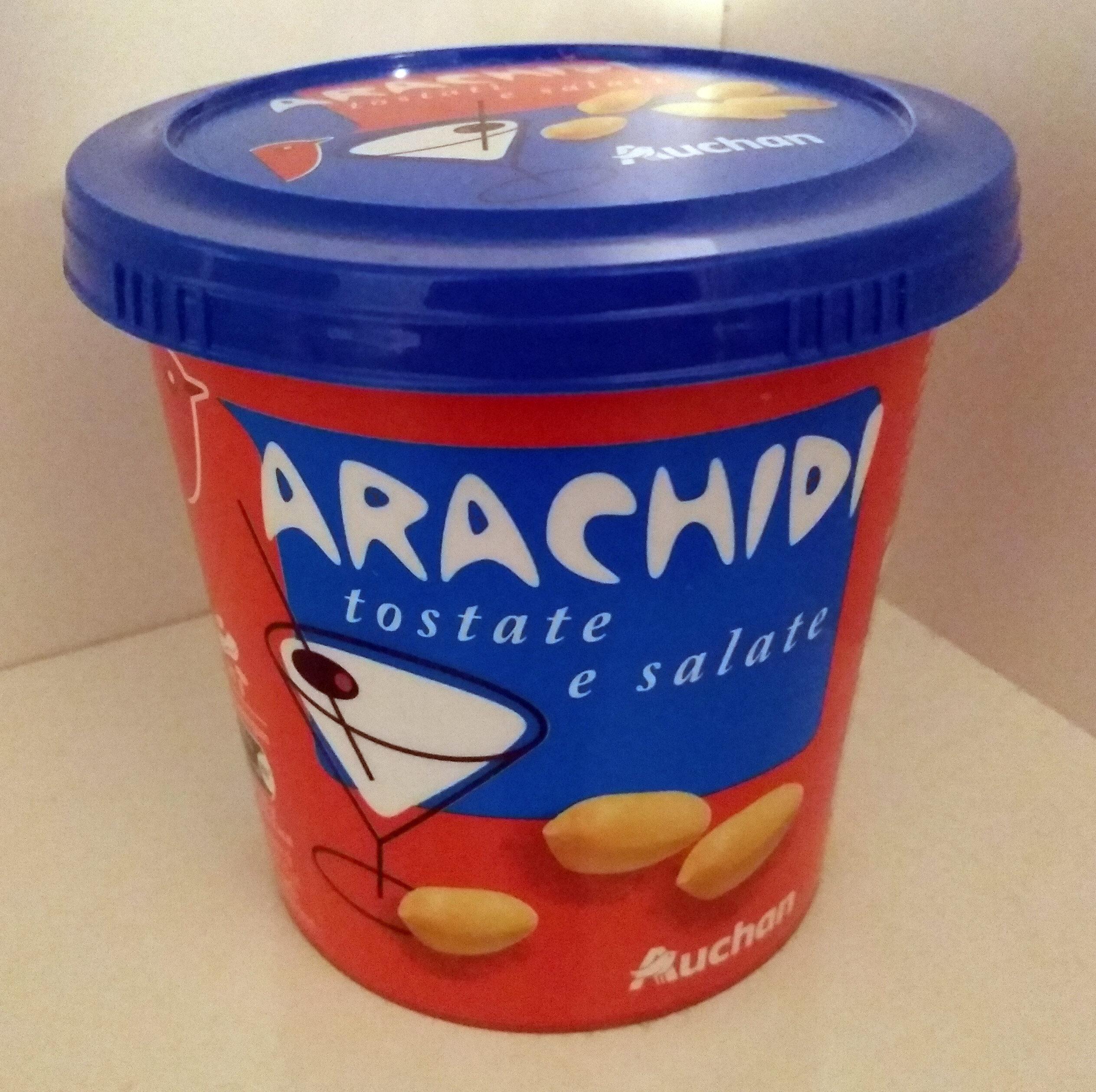 Arachidi tostati e salati - Product