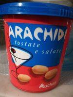 Arachidi tostate e salate - Produit - it