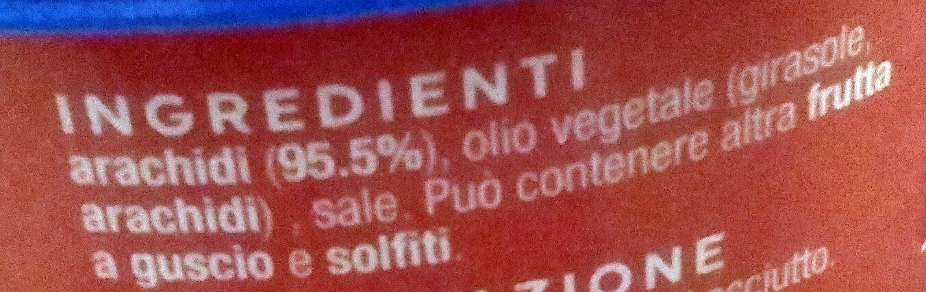 Arachidi tostati e salati - Ingredients