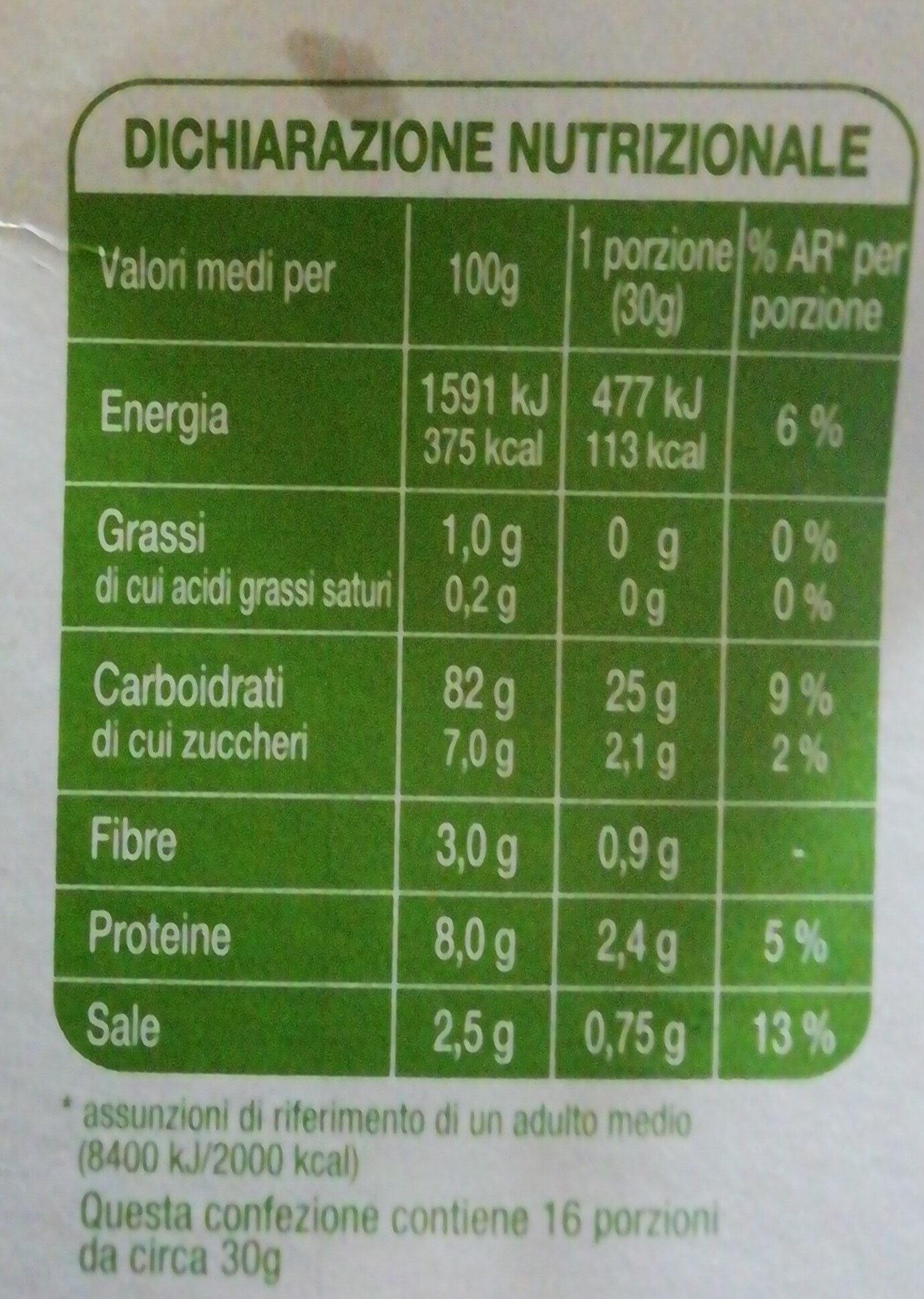 Fiocchi di mais Corn flakes - Nutrition facts - it