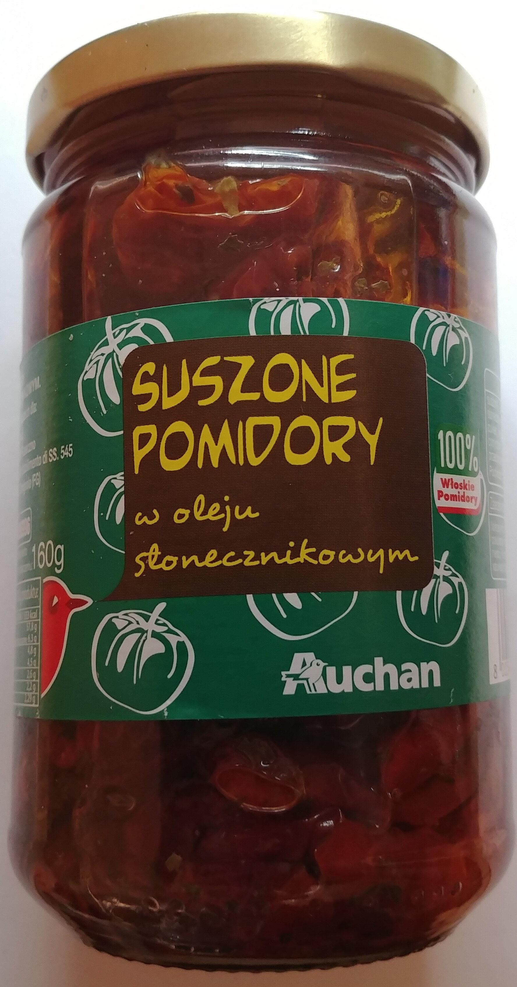 Suszone pomidory w oleju słonecznikowym. - Produkt