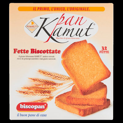 Biscopan Pan Kamut Fette biscottate - Product - it