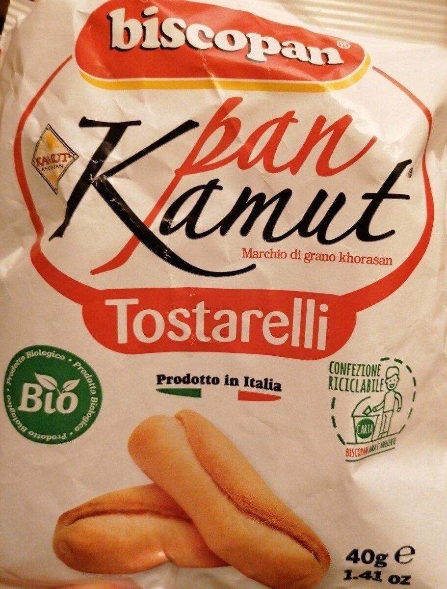 Biscopan PanKamut Tostarelli - Prodotto - it