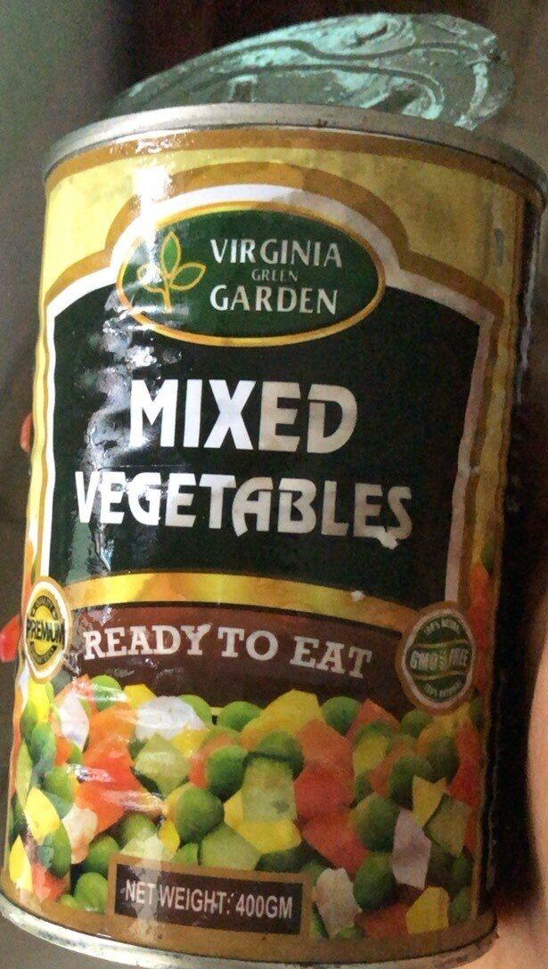 Mixed vegetables - Produit - fr