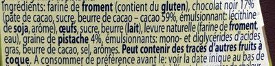 Petit Pandoro Recouvert de Chocolat et Pistache - Ingrediënten