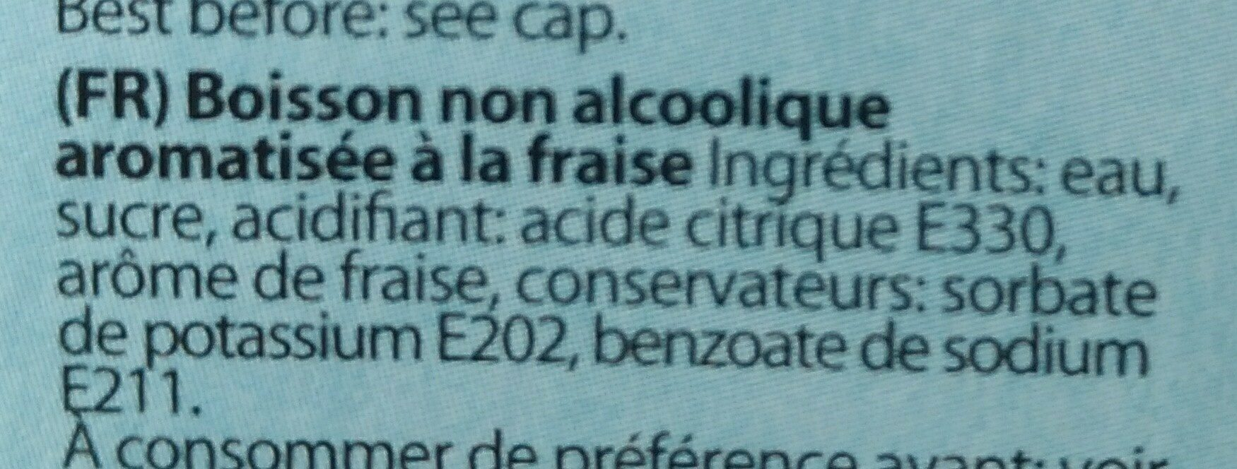 Trinketto - Ingrédients - fr