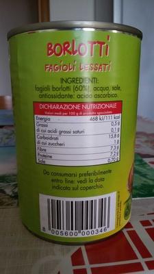 Borlotti Fagioli lessati - Product