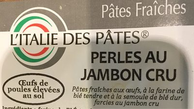 Perles de jambon cru - Produit