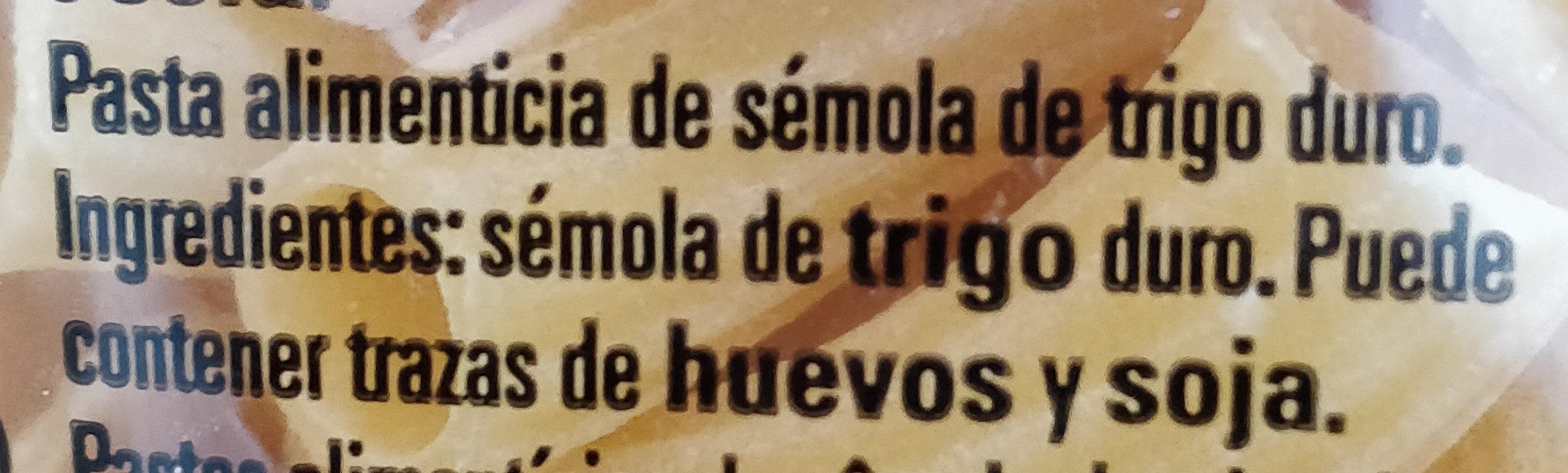 Tortiglioni - Ingrediënten