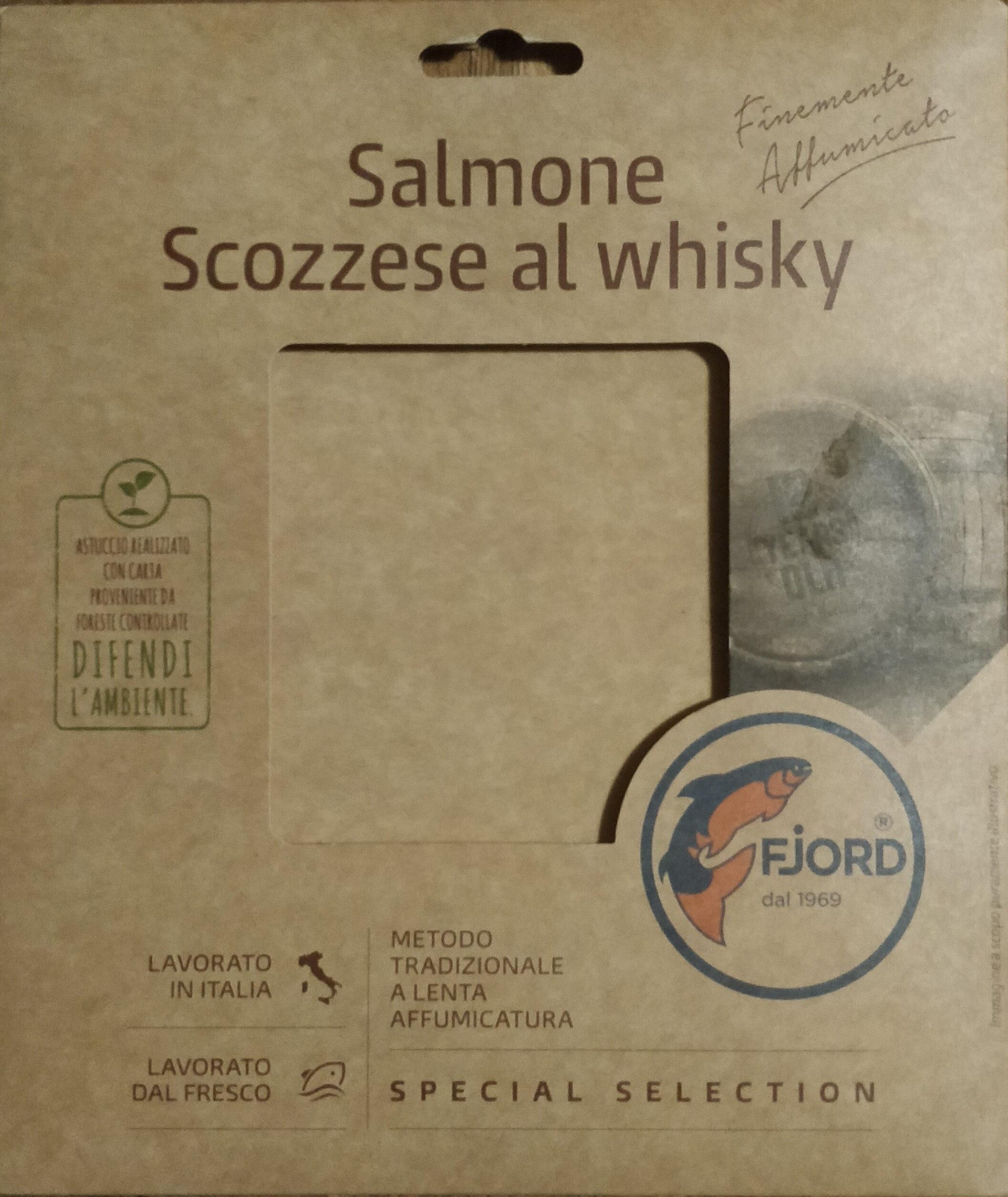 Salmone scozzese al whisky - Product - it