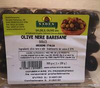 Olive nere baresane - Product