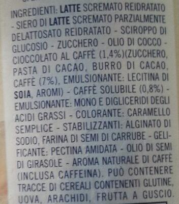 affogato al caffè - Ingredients - it