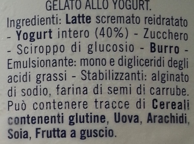 Yogurt - Ingredients - fr