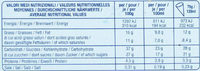 Cinque Stelle Panna - Nutrition facts