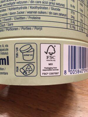 Barattolino Vaniglia e Pistacchio - Instruction de recyclage et/ou informations d'emballage - fr