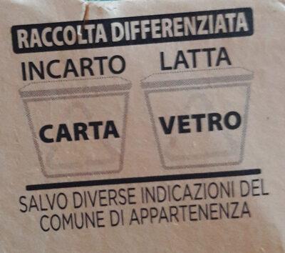 Tonno al naturale - Istruzioni per il riciclaggio e/o informazioni sull'imballaggio - it