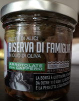 Filetti di Alici in olio d'oliva - Produit - it