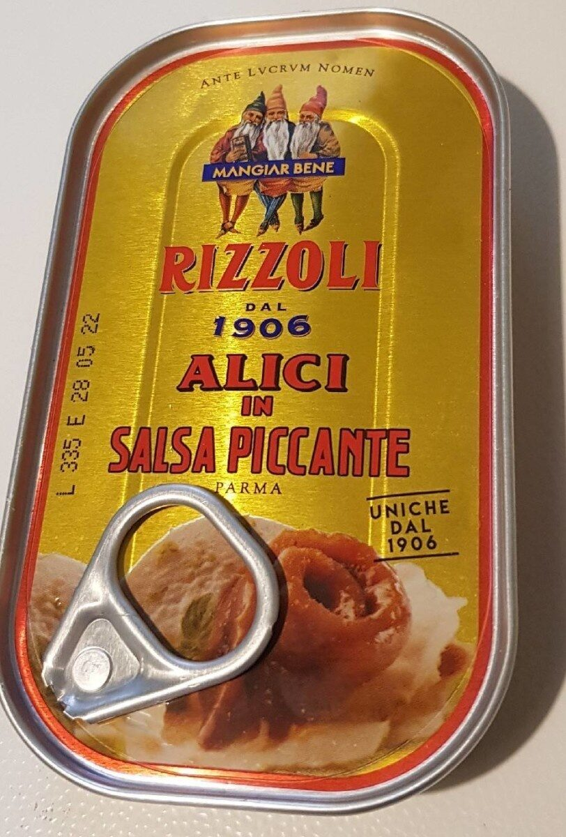 alici in salsa piccante - Produit - it