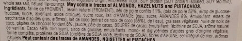 Grande Muffin Pera E Cioccolato - Ingredients - fr