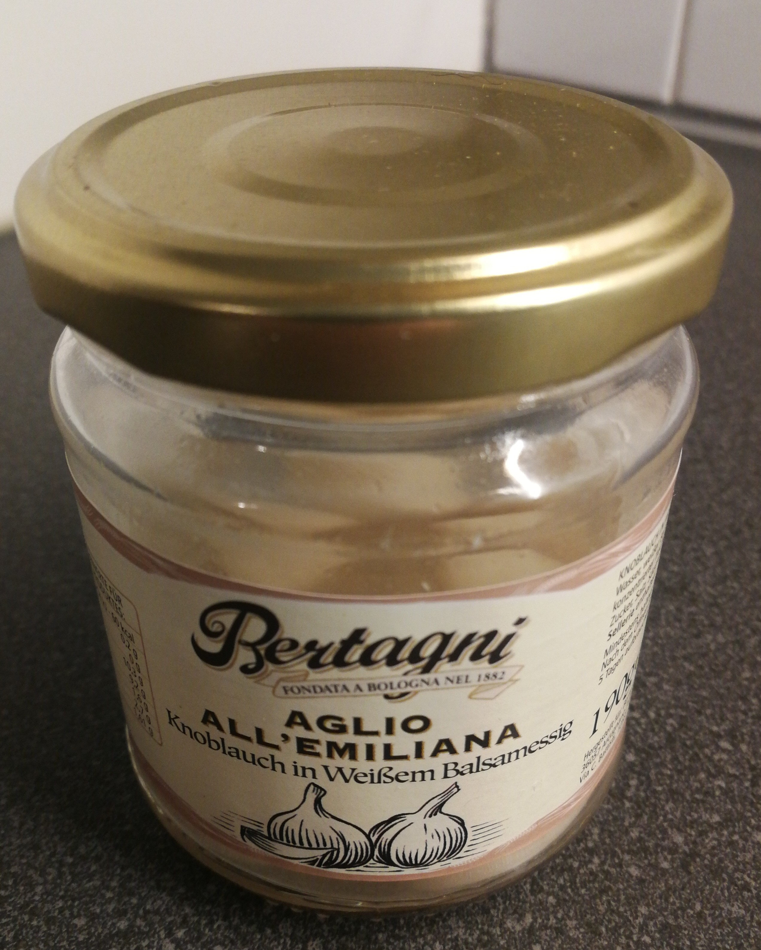 Aglio All'Emiliana - Produit