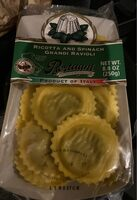 Ricota and Spinach Grandi Ravioli - Product - en