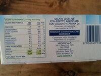 Il Gelato 8 sandwich - Informació nutricional