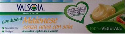 Maionese senza uova con soia Condisoia - Producte - es