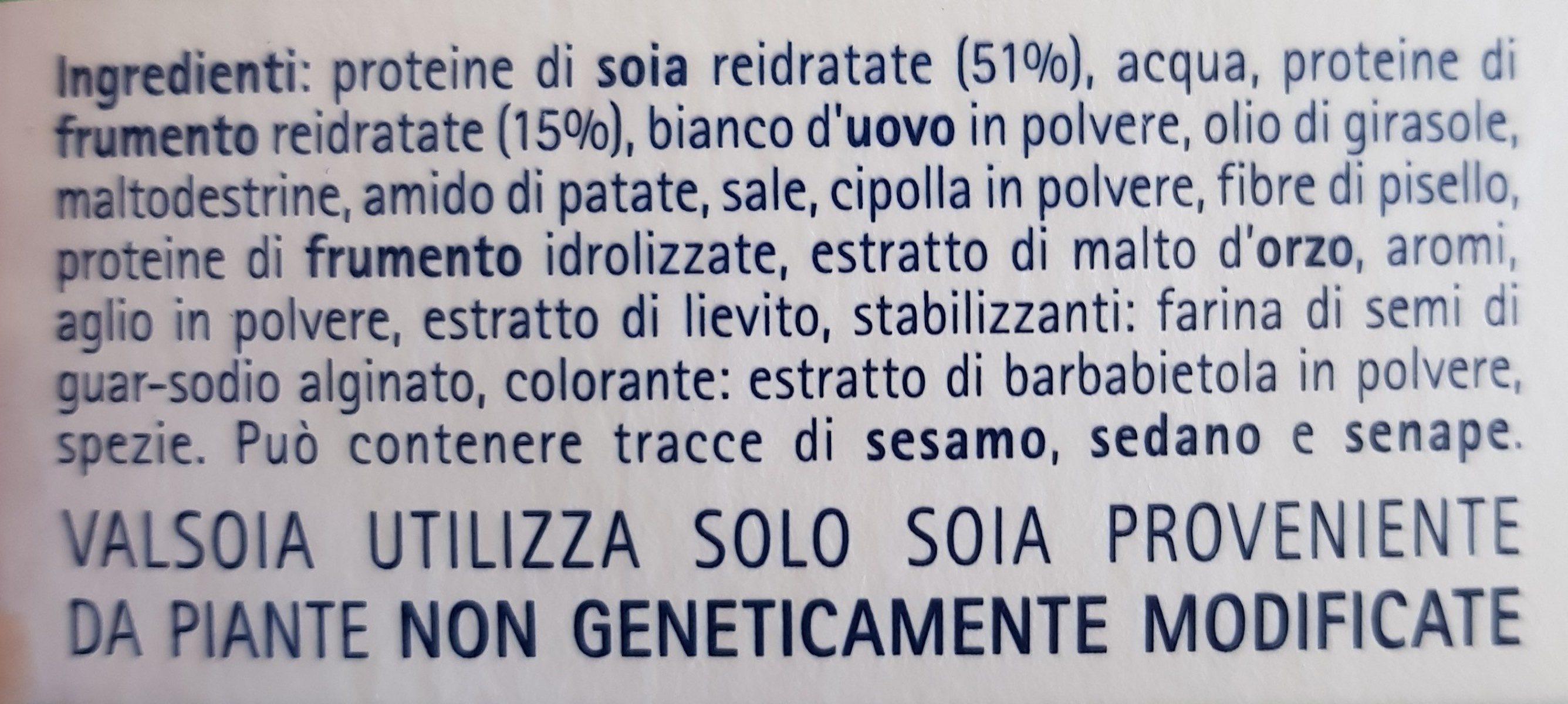 Valsoia Polpettine Surgelate - Ingredients - fr