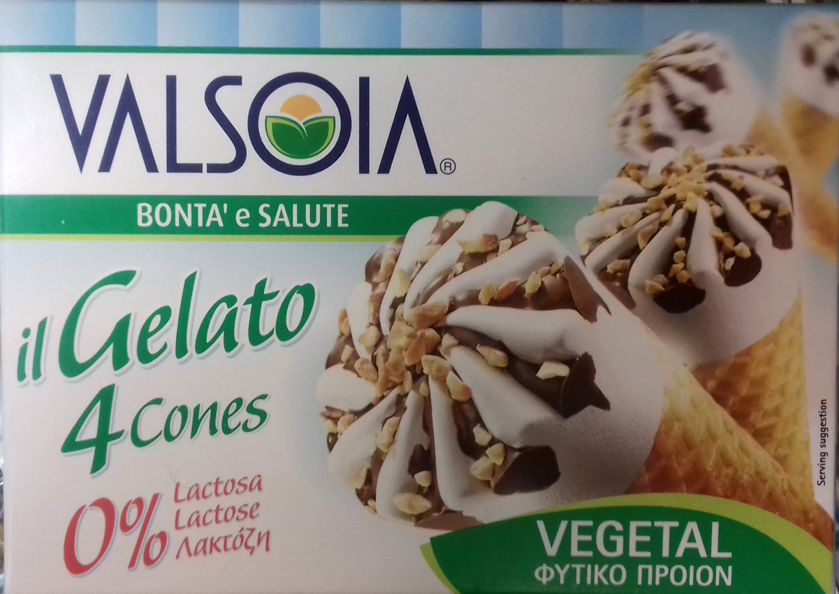 Bonta' e Salute Il Gelato 4 Cones Vegetal - Producto - es