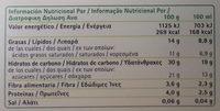 Bonta' e Salute Il Gelato 4 Cones Vegetal - Información nutricional - es