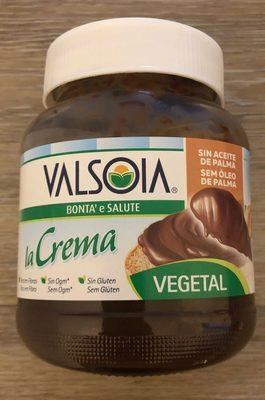 Crema vegetal cacao - Producto